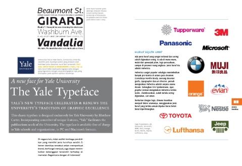 cuplikan bab 5: sistem identitas - corporate typography